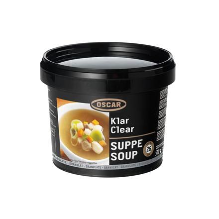 Suppe Klar granulat 500 gr