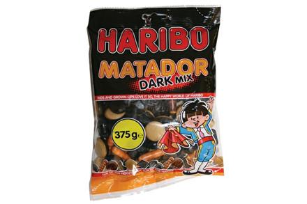 HARIBO DARK MIX 375 GRAM