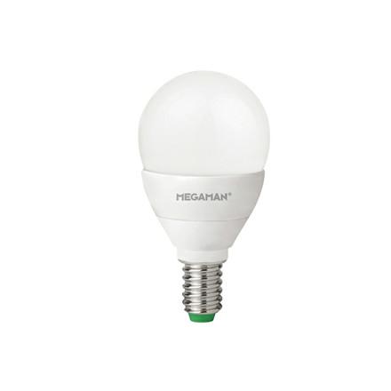 Pære E14 LED dæmpbar Megaman 3,5W 1 Stk