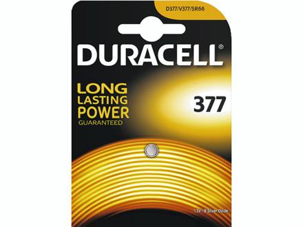 Batteri Duracell Electronics 377 1stk/pak SR66