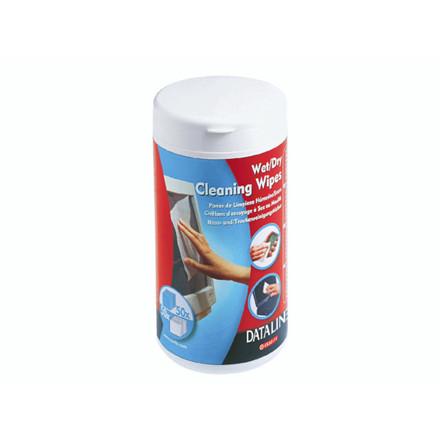 Våd/tørservietter til skærm 50våd/50tør