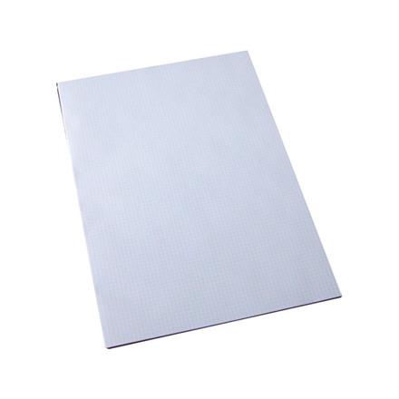 5 stk Standardblok kvadr 60gr. hvid u/huller A3 100blade/blk