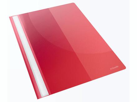 25 stk Tilbudsmappe Esselte PP rød A4 m/lomme 28340