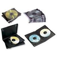 10 Stk CD/DVD jewel case Fellowes 98310 10stk/pak