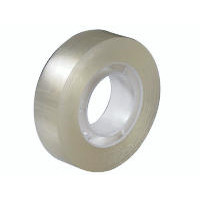 10 ruller Tape PP klar 15mmx33m kerne Ø25mm