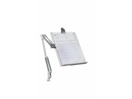 Konceptholder LUXO MH 801 lysgrå A4