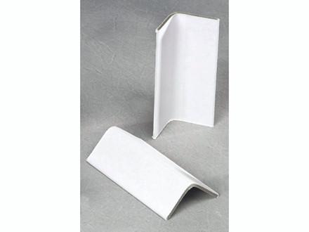 1800 stk Vinkellister karton hvid 35x35x2,5x100mm
