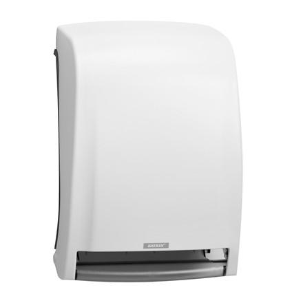 Dispenser t/papirhåndklæder Katrin hvid 234x299x434mm System