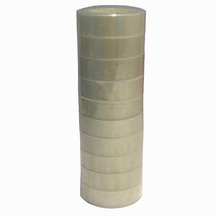 10 ruller Tape PP Q-Line klar 15mmx33m