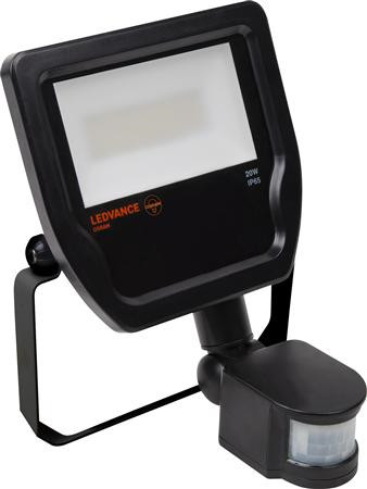 Armatur POPULAR Floodlight LED 20W/840 BK