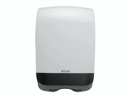 Dispenser t/papirhåndklæder Katrin M hvid 90168 146x301x450m