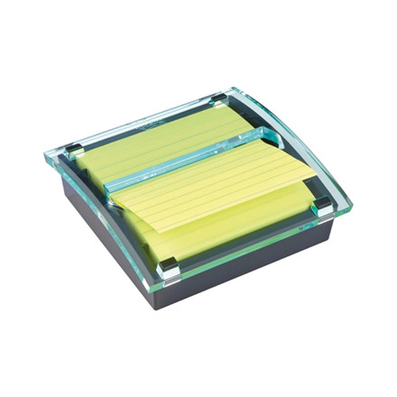 Post-it z-notedispenser stor sort inkl. 1stk lin. Super Stic