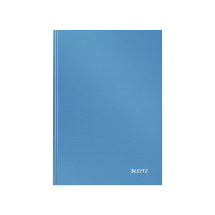 Notesbog Leitz Solid A5 lyseblå hard linieret 80ark