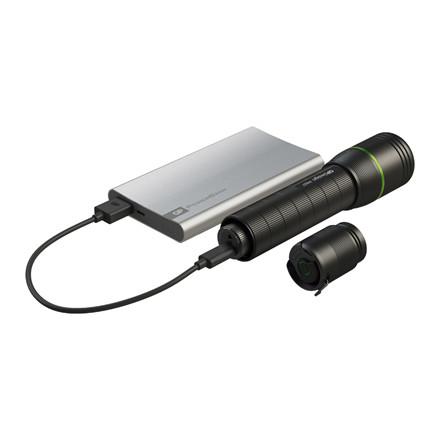 Lommelygte GP LED USB genopladelig 1000 lm
