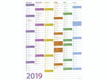 Vægkalender Trend 36x49cm 19 0551 00