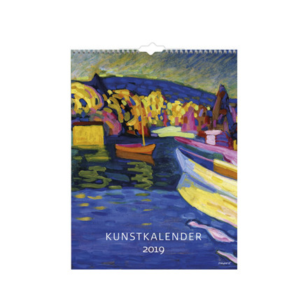 Vægkalender Kunst 29,5x39cm 19 0661 50