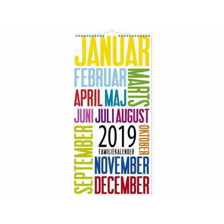 Familiekalender TrendArt 22x43cm 19 0661 90
