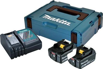 Batteripakke 2xbl1840b+dc18rc