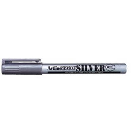 12 stk Marker Artline fiber & filtpen sølv 0,8mm EK999