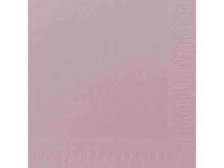 Servietter 3-lags Duni soft violet 40cm 1000stk/kar
