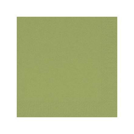 Servietter 3-lags Duni herbal green 24cm 2000stk/Kar