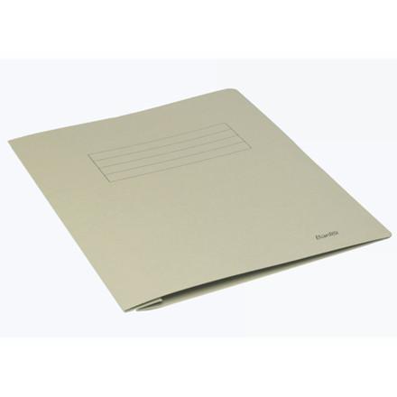 100 stk Arbejdsmappe Bantex grå 318x240mm m/skrivefelt