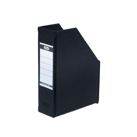 5 stk Tidsskriftskassette ELBA A5 maxi sort ryg:6,5cm