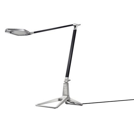 Bordlampe Leitz Smart LED Style satin sort