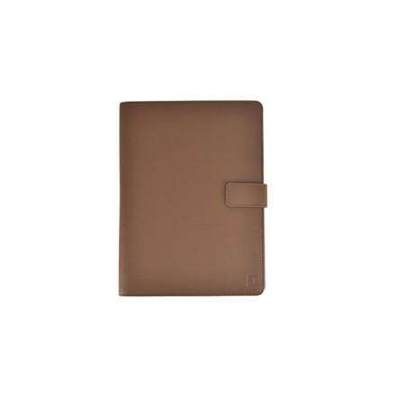Notesbog A5 Modena Essential digital brun folie omslag PU