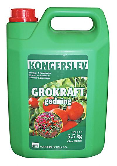 BLOMSTERGØDNING GROKRAFT 5 L