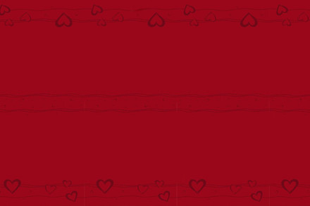 10X140 CM DUG HEARTS--