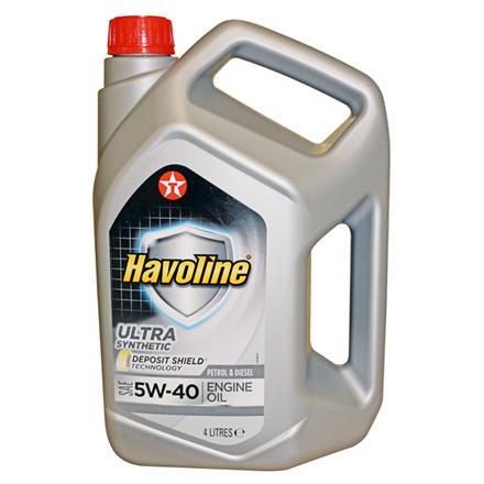 MOTOROLIE HAVOLINE ULTRA 5W40 4 LITER