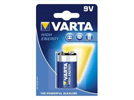 BATTERI VARTA HIGH ENERGY 9V 6 LR 61 1ST