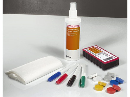 WHITEBOARD STARTERKIT OFFICE DEPOT ECONO