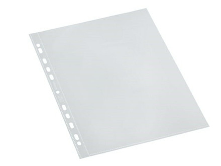100 STK PLASTLOMMER BANTEX A4 GLASKLAR 0 - C393172