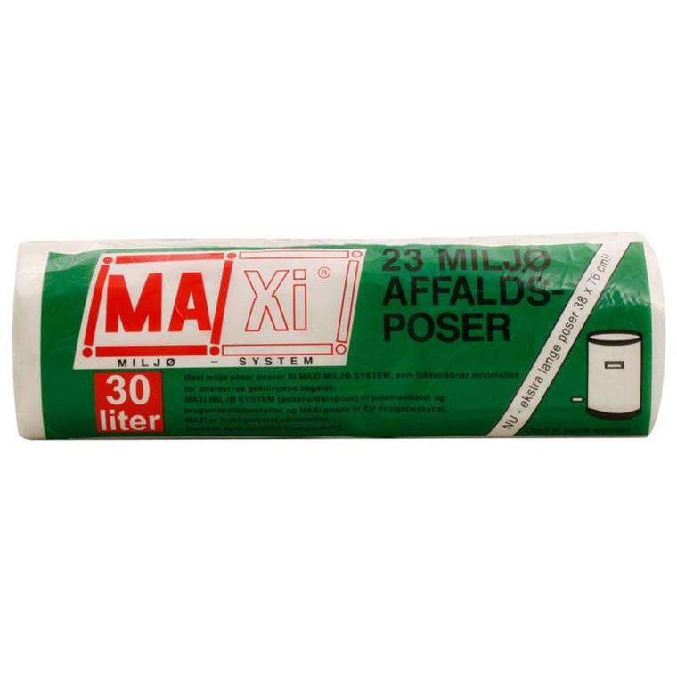 Affaldsposer Maxi 30 L 23 stk