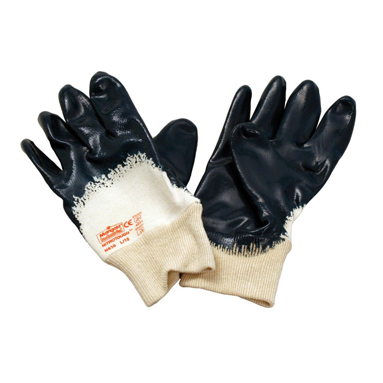 Handske Nitrile Nitrotough XL