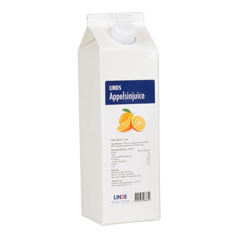 Juice LINDS Appelsin koncentreret (1+4) 1 ltr
