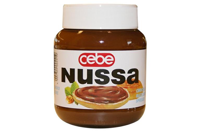 Chokoladepålæg Nussa 400 Gr
