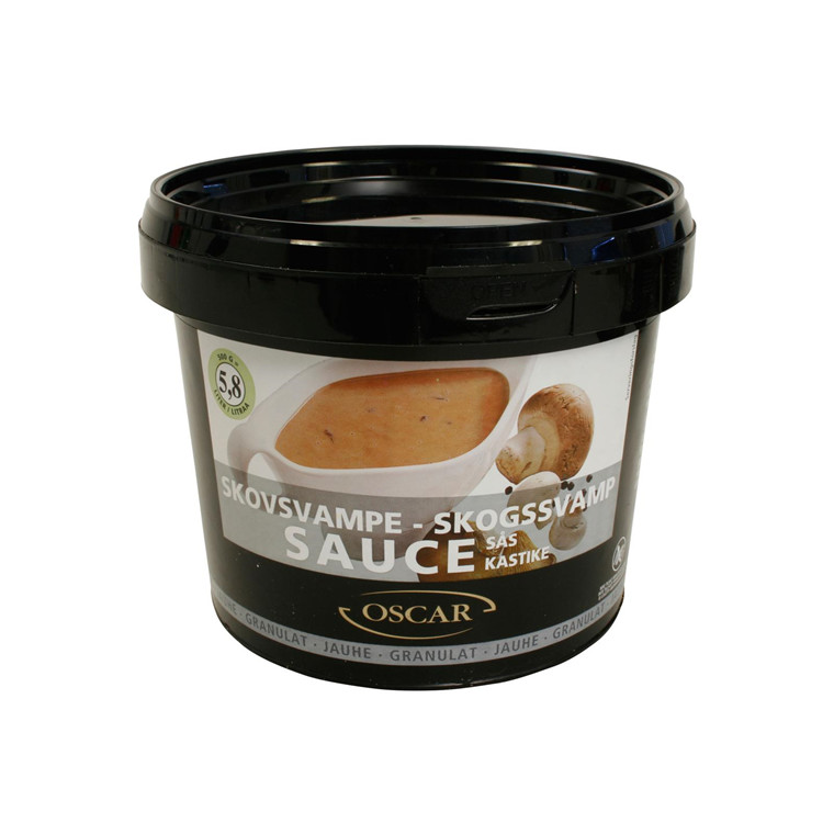 Sauce Oscar Skovsvampe granulat 500 gr