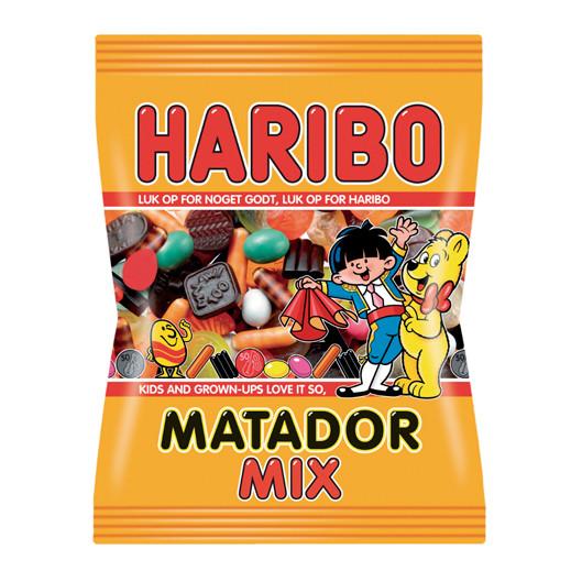 Slik Haribo Matador Mix 375 gr