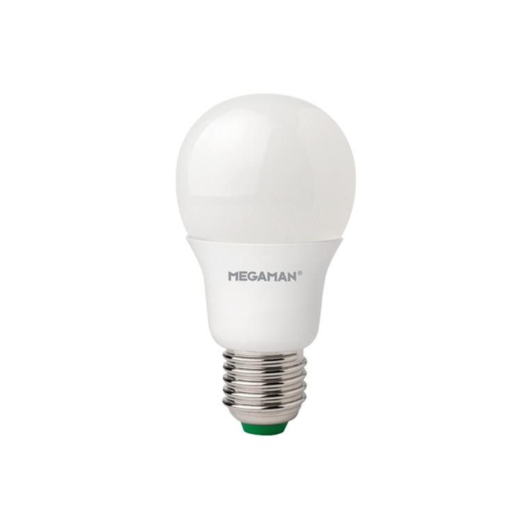 Pære E27 LED classic Megaman 6W 1 Stk