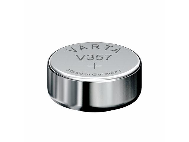 Batteri Varta ur V357 SR44 1,55V 180mAh 1stk/pak