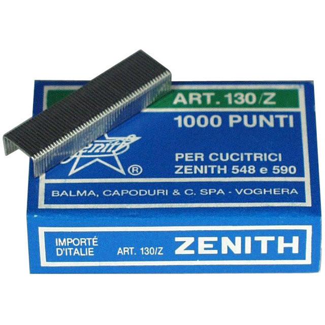 Hæfteklammer forzinket stål Zenith 130-Z 1000stk/pak