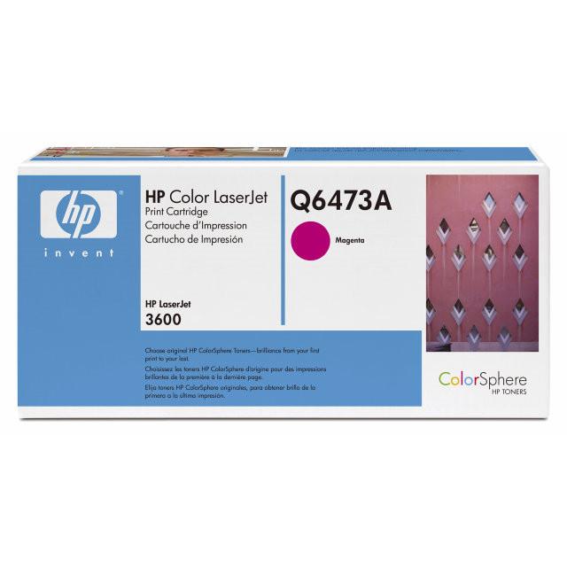 Lasertoner HP Q6473A magenta Color LJ 3505/3600/3800