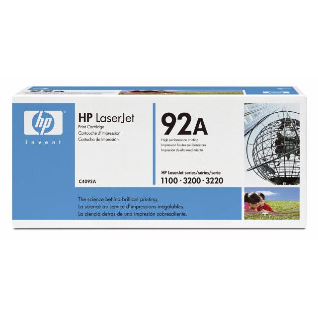 Lasertoner HP C4092A Laserjet 1100/3200 serier