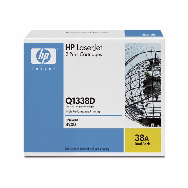 Lasertoner HP Q1338A LaserJet 4200 12.000 sider v/5%