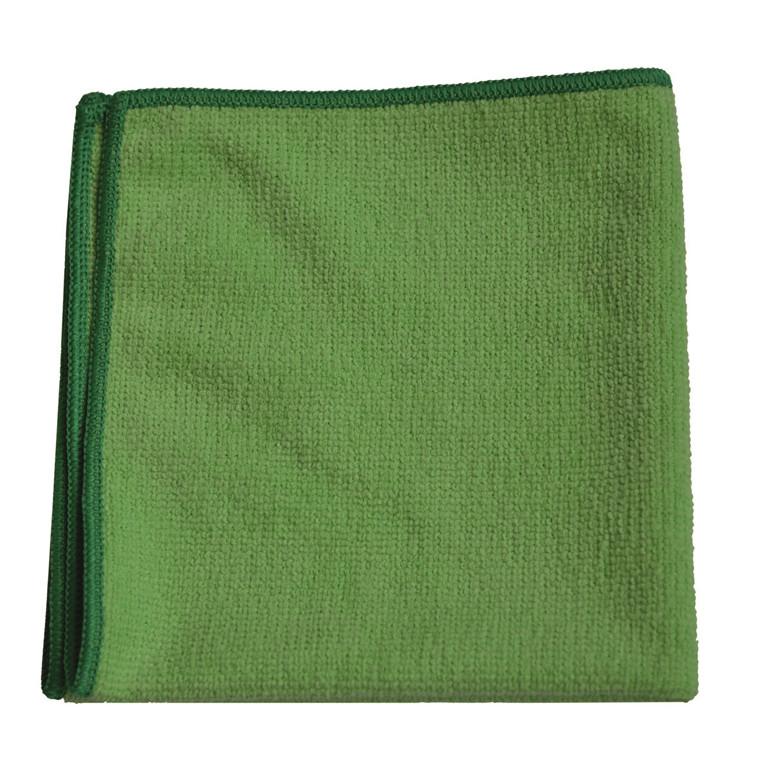20 Stk Microfiber klude TASKI MicroLight grøn 20stk/pak
