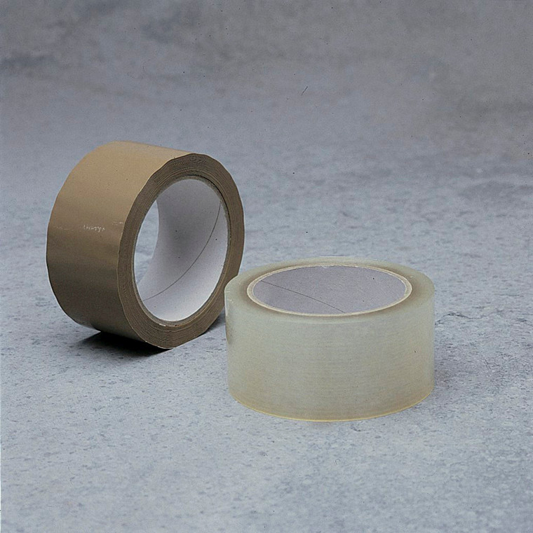 6 ruller Tape PP28 acrylic brun 48mmx66m