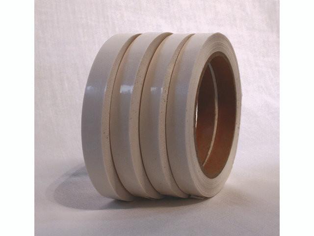 66 Meter 24 ruller Tape PVC hvid 12mmx66m